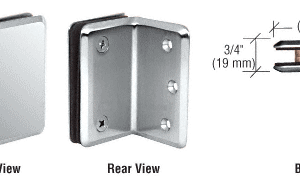 metal joints for glass balustrades