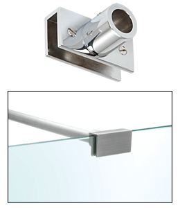 example of metal rod for glass balustrades