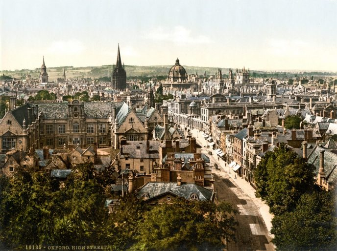 A picture of Oxford, an area supplied by leading glass suppliers, glass merchants, and glass manufacturers, Cameo Glass